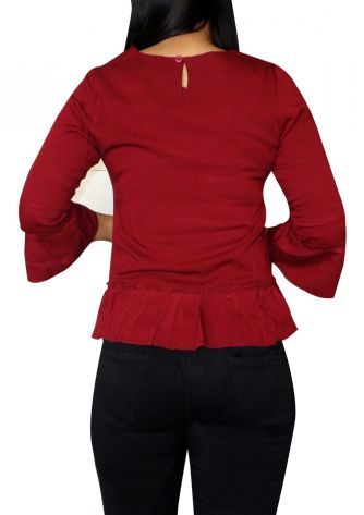 Dresses / Blouses EXETER SHIRT - RED 2 44_factor_exeter_red_03