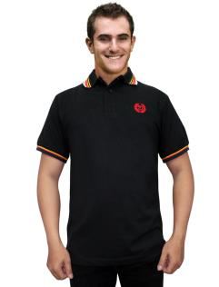 ELMORE POLO SHIRTBLK