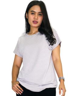 KANIKA BLOUSE  GREY