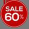 SALE 60% sale 60