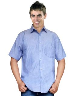 SHERMAN SHIRT  BLUE