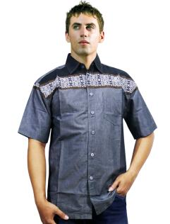 SUANA SHIRT  BLACK